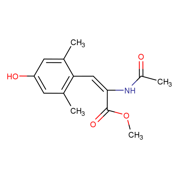 N Acetyl A Amino 26 Dimethyl 4 Hydroxycinnamic Acid Methyl Ester